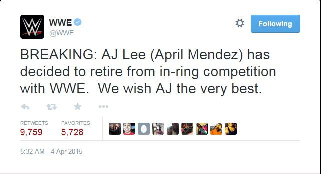 AJ quits