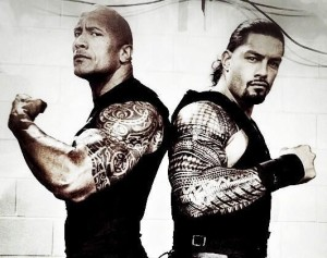 therock and roman reigns