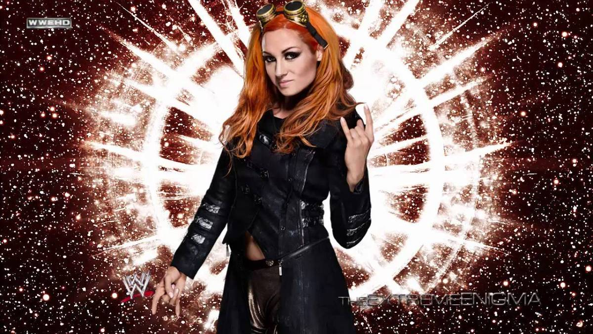 Becky Lynch's fiery new look has geeky origins