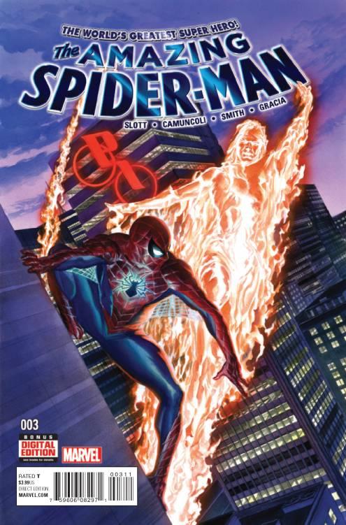 By: Dan Slott, Giuseppe Camuncoli and Alex Ross (Marvel)