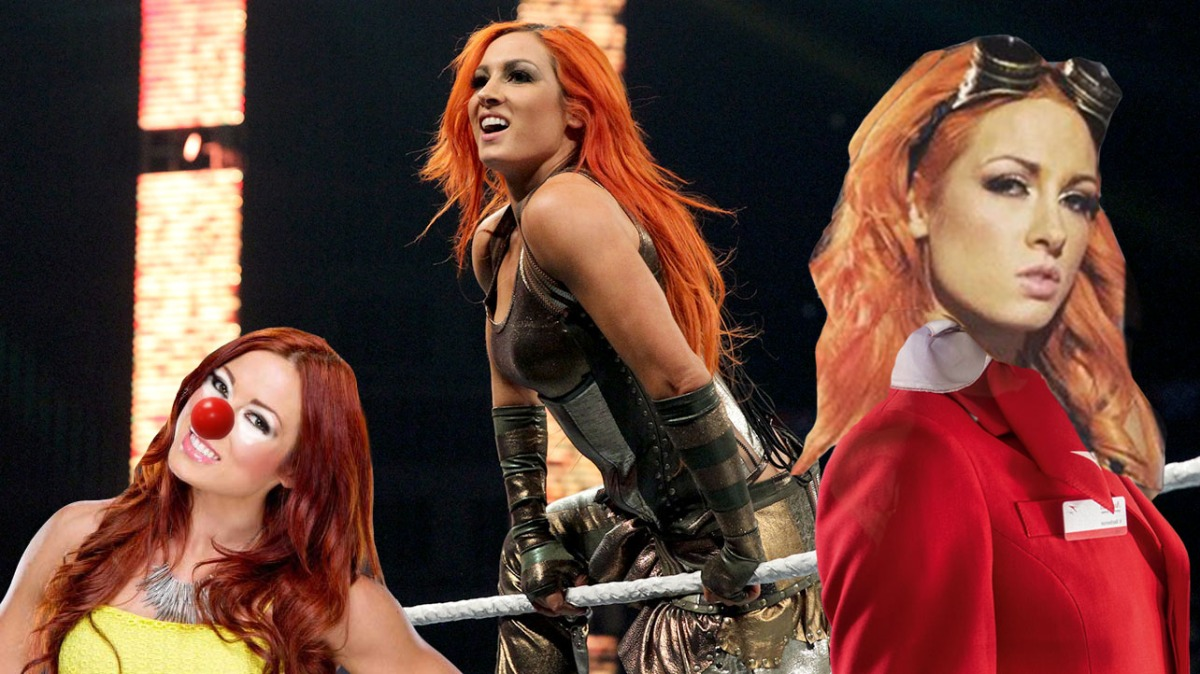 The 5 Odd Jobs of WWE's Becky Lynch