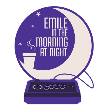 Emile in the morning at night Logo 3k.png