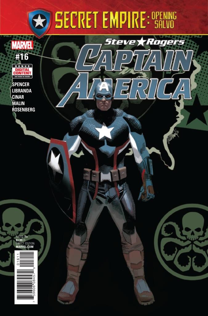 captain america steve rogers 16