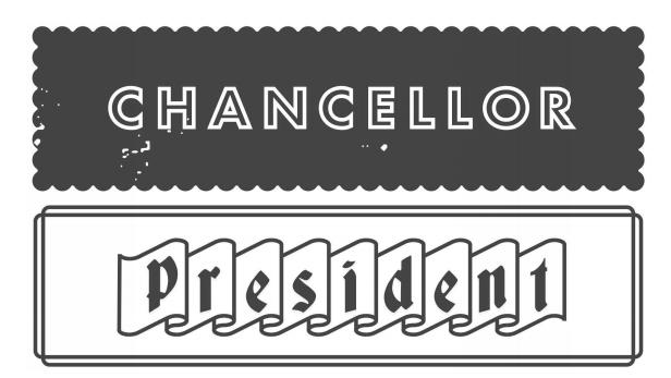 president chancellor