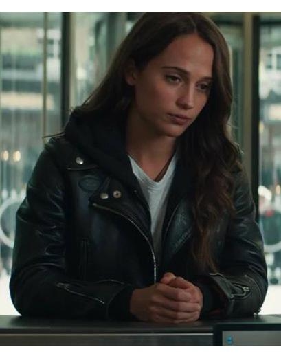 Tomb Raider - Vikander Leather Jacket
