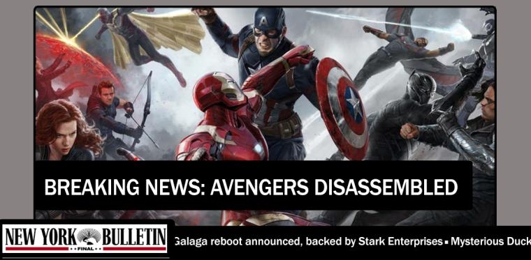 Story so Far Avengers