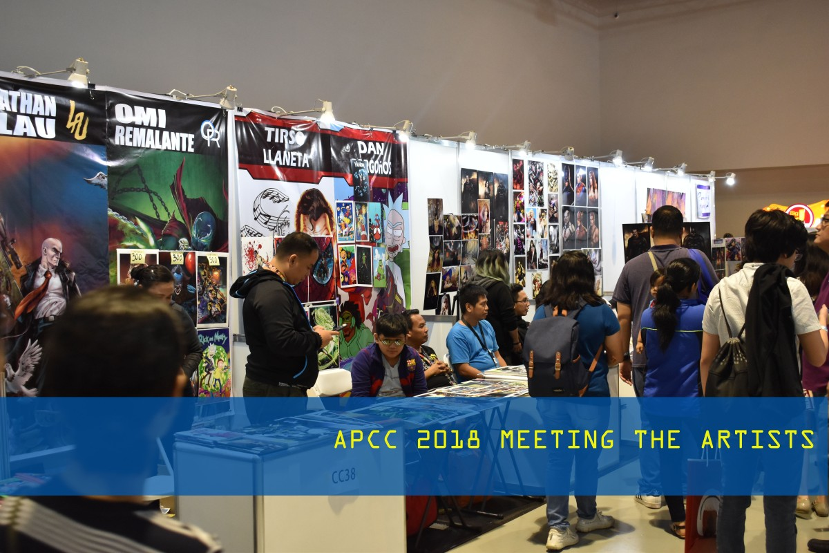 APCC 2018 - Meeting the Artists